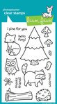 st Clear Stamp Set (Lawn Fawn) (Expressions Stamp Sets)