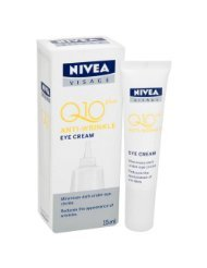 Price comparison product image New Nivea Visage Anti Wrinkle Q10 Plus Eye Cream 3pack