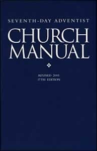 seventh day adventist church manual revised 2005 9780828019477 rh amazon com Sample Church Financial Statement Baptist Church Handbook