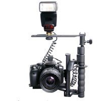 RPS Studio Digital Flash Bracket with Off Camera Shoe Cord &