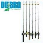 DU-BRO Fishing Trac-A-Rod Storage System, 2-Feet, Black/Gold For Sale