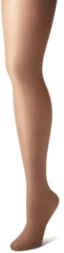Danskin Women's Shimmery Footed Tight - B - Toast -