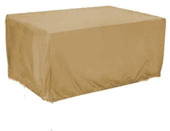 HBCOLLECTION Deluxe Polyestere Copri Telo di copertura per tavolo rettangolare 196cm