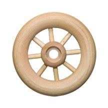 2 inch Spoke Wheels 1/4 inch hole-Bag of 72 by WWD   B00TPAQCK8