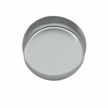 Cole-Parmer-Aluminum-Smooth-Walled-Weighing-Dishes-150-mL-100Pk