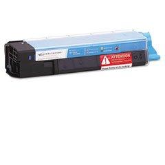 Media Sciences MSWOK6155C Cyan Toner Cartridge (6000 Page Yield) - Equivalent to Okidata (43324419 Laser)