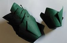 Professional Baking 50 Dark Green Tulip Muffin Wraps Great for Parties