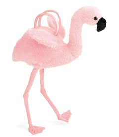 North American Bear Handbag Flamingo Shoulder Bag by Co. (2455) - North American Bear Handbag