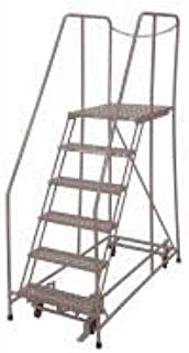 product image for Cotterman 1006R2630A3E30B4D3C1P6 - Rolling Ladder Steel 90In. H. Gray