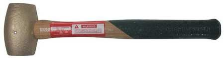 Hammer, Brass, 4In, Wood