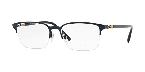 Burberry Men's BE1323 Eyeglasses Matte Blue ()