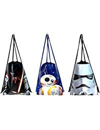 Disney Star Wars Drawstring/backpack Set of 3