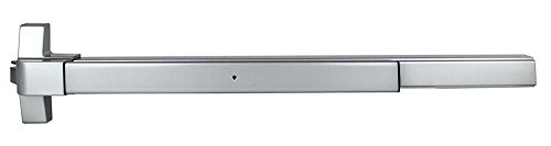(TACO ED-501-US32D Series Trans Atlantic ED-501 Rim Surface Exit Device in Satin Stainless Steel)