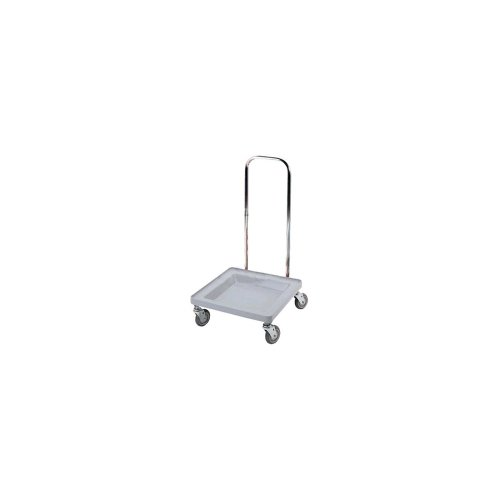 Cambro (CDR2020H151) Plastic Camdolly w/Chrome Handle - for Dish Racks by Cambro
