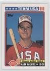 Mark McGwire (Baseball Card) 1992 Topps Dairy Queen Team USA - Restaurant [Base] #1 - Mark Mcgwire Insert