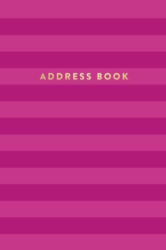 Address Book: Pink Stripes, 6