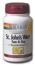 Solaray - St John's Wort Two-A-Day, 900 mg, 60 capsules ()