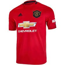 adidas Youth Soccer Manchester United Home Jersey