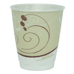 Solo Cup Company Trophy - SOLO Cup Company Symphony Design Trophy Foam Hot/Cold Drink Cups, 8oz