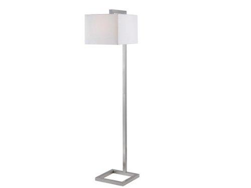 Kenroy Home 21080bs 4 Square Floor Lamp Brushed Steel Amazon Com