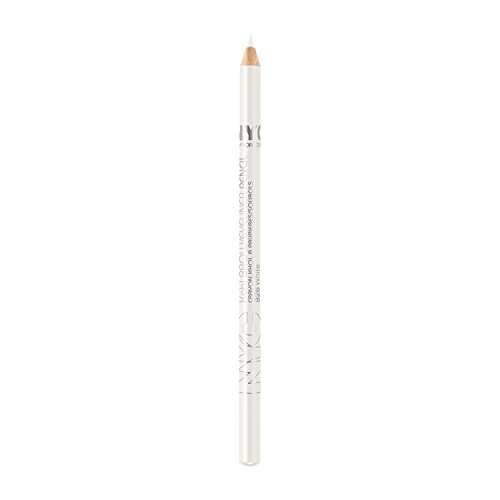 New York Color Classic Brow/Eyeliner Pencils, White, 7 Inches, 0.04 Ounce (Pack of 6) ()
