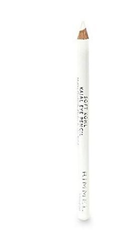 1.2g/0.04oz Eyeliner Pencil (Rimmel Eye Pencil Soft Kohl Kajal 0.04 oz (1.2 g) Pure White (3 PACK))
