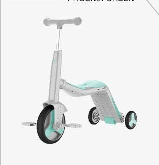 SUPER TOYS 3 in 1 Scooter for Kids Scooter 3 Wheels 3 in 1 Adjustable Balance Bike Tricycle 3 in 1 for Kids Child Toy Bicycle Balance Car Scooter Blue