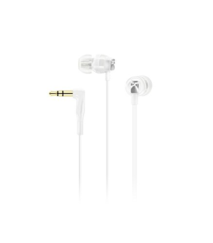 Sennheiser CX 3.00 Earbud Headphones White CX 3.00 WHITE
