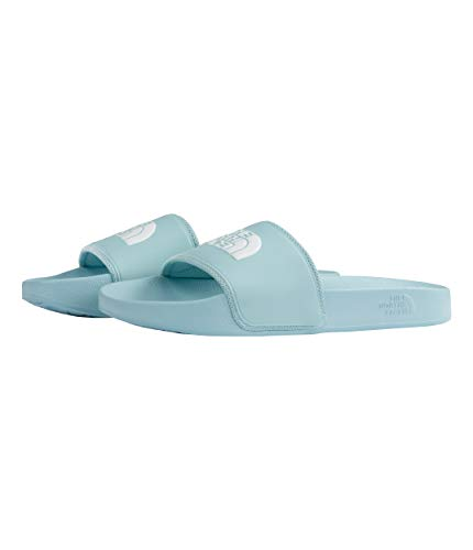 - The North Face Women's Base Camp Slide II, Canal Blue/TNF White, Size 8