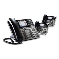 (RCA Unison DECT 6.0 Phone System with One Base Station and Two Wireless Deskphones)