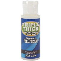Deco Art� Triple Thick Brilliant Brush-On Glaze - (Art Glaze)