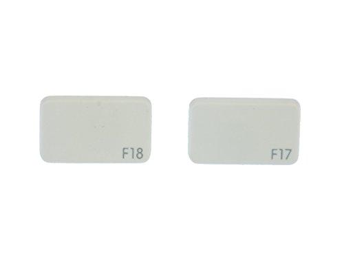 Tastatur Ohrstecker Miniblings Stecker Ohrringe Keyboard weiß F17 F18 blanco