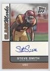 - Steve Smith (Football Card) 2007 Topps Draft Picks and Prospects (DPP) - Class Marks Autographs #CM-SS