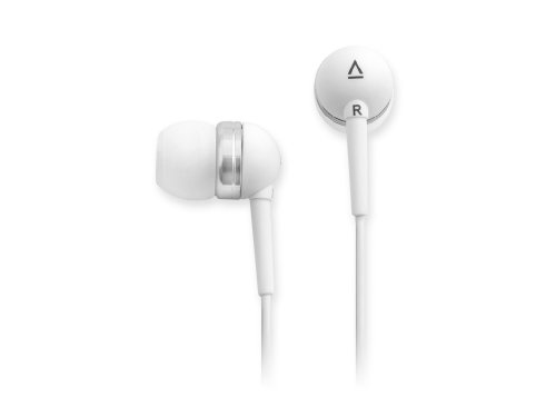 Creative EP-630 In-Ear Noise Isolating Headphones (White) Creative Labs Over The Ear Headphone