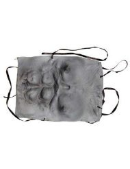 Morris Costumes Men's Werewolf Chest - Grey