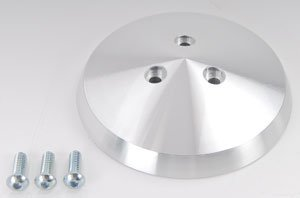 March Performance 394  Polished A/C Compressor Clutch Cover - A/c Compressor Clutch Cover