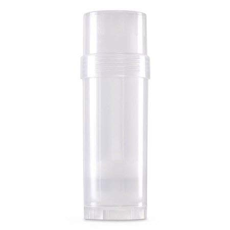 6 ct. Deodorant Twist-up Empty Containers Natural – for lotion bar, heel balm etc. 2 oz.