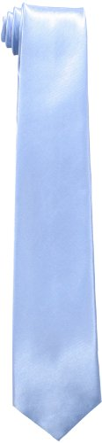 Big Tie - American Exchange Big Boys' Solid Tie, Light Blue, 50 Inch