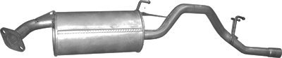 ETS-EXHAUST 2733 Silenziatore marmitta Posteriore (pour HR-V 1.6 105hp 1998-2005) ETS-SCARICO