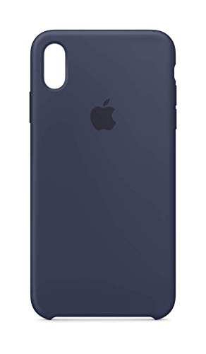 Apple Silicone Case (for iPhone Xs Max) - Midnight Blue