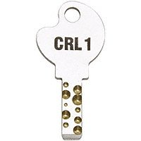 CRL Replacement Key #1 for 03P Series Deluxe Slip-On Plunger Locks