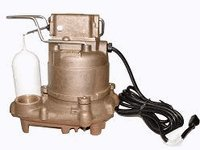 Zoeller 59-0001 Mighty-Mate M59 03 HP Submersible for Dewatering or Effluent Bronze Automatic Sump Pump