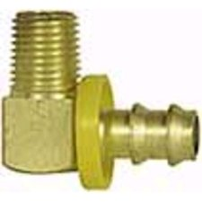 Imperial 92076 Low Pressure Male Pipe Rigid Barb-tite Hose End (Pack of 10)