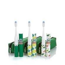 violife-slim-sonic-3-piece-green-margaritaville-toothbrush-set-flamingos-avocado-palm-leaves