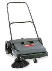 "Push Sweeper, Walk Behind, 27"", 8 gal."
