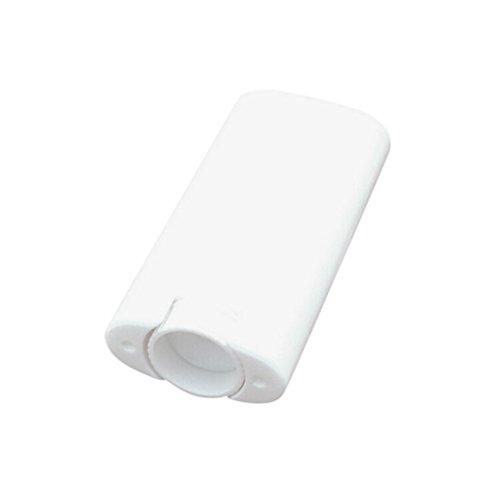 Healthcom Deodorant Container Plastic Deodorant Containers DIY Empty Oval Lip Balm Tube Container,White,15ml,8 Pcs,0.5oz