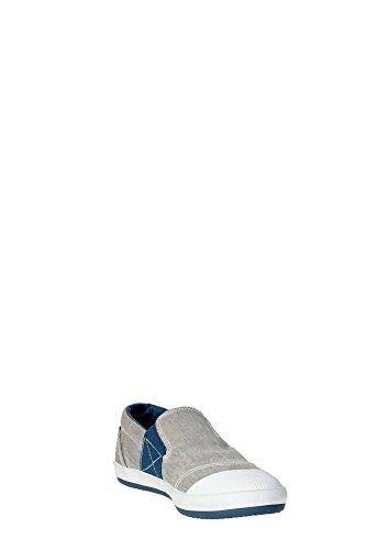 Geox J52A7J Slip-on Zapatos Boy Tejido Gris gris