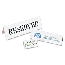 Laser/Inkjet Tent Cards,Small,Perforated,2''''x3-1/2'''',160/BX,WE, Sold as 1 Box, 160 Each per Box