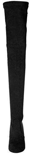 Pan Black Highland Women's Kaitlyn Microsuede The Knee Boots Over z8dd1qSnw