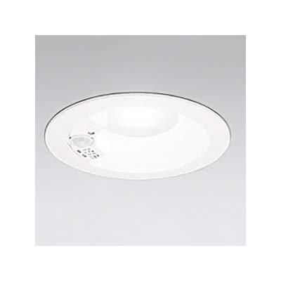 LEDダウンライト SB形 φ125 白熱灯100W形 拡散配光 非調光 人感センサ付 本体色:オフホワイト形 5000K B07S1SGN4M